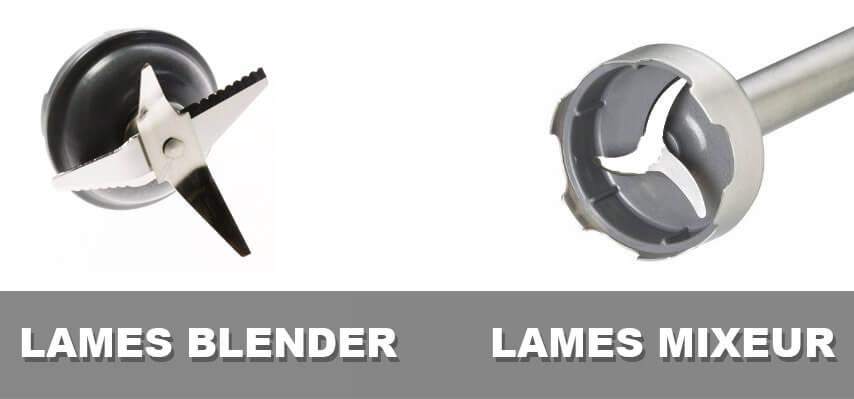 differences lames blender et lames mixeur